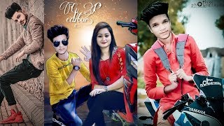 Picsart best editing with girl//hero wala photo editing//with girl png