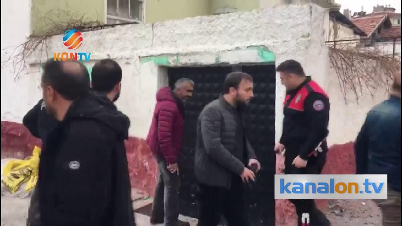 Konya'da iki aile arasında kavga! 200 polis müdahale etti