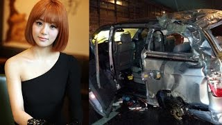 ladies code eunb died in car accident crash rip   숙녀 코드 사고 자동차 사고