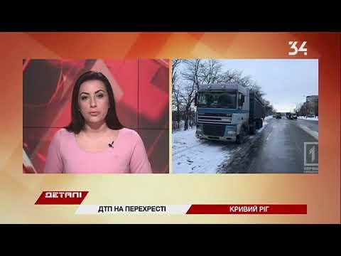 34 телеканал: В Кривом Роге маршрутка врезалась в фуру