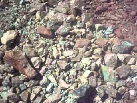 cateo mineral de cobre y hierro en Peru