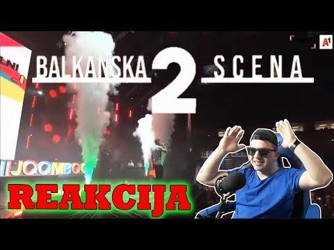 BAKAPRASE X LAZIC - BALKANSKA SCENA 2 *REAKCIJA*