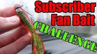 FAN MAIL Bass Fishing Challenge!! (Subscriber Appreciation Day!)