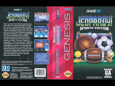 Jeopardy! Sports Edition (Sega Genesis)