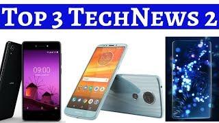 Top 3 TechNews 2 | Vivo Apex concept phone, Lava Z50 Android Go Phone, Moto E5 Plus Leaks...