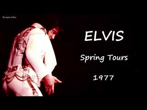 """ELVIS - """"Spring Tours 1977"""" - (Alternate Album) TSOE 2018"""