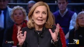 Marco Travaglio, Massimo Franco, Barbara Palombelli e Massimo Giannini si confrontano con Luigi ...