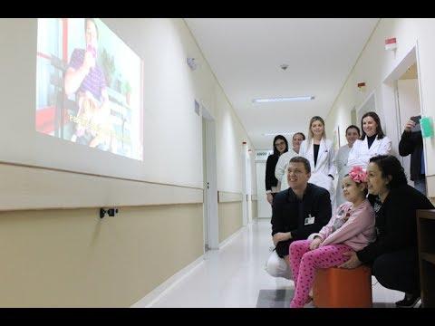 Paciente recebe vídeo de ator de Grey's Anatomy