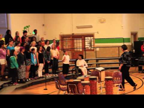 Linwood Middle School Choir Performance - May 2015 (part 1)
