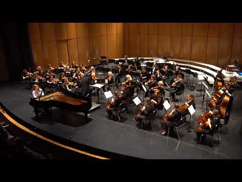 Mount Union student Paige Morris | Beethoven Piano Concerto No  2, third movement