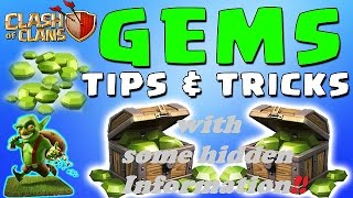 HOW TO COLLECT GOOD NUMBER OF GEMS IN CLASH OF CLANS/ SOME SPECIAL FACTS TO GET MORE GEMS