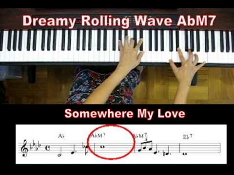 Learn to play dreamy Major 7 runs and fills with sweet sounds - Learn Piano With rosa