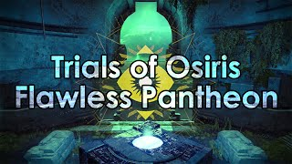 Destiny: Trials of Osiris 9-0 Flawless Victory - Pantheon Full Gameplay