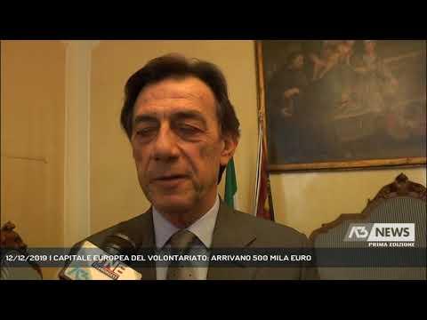 12/12/2019   CAPITALE EUROPEA DEL VOLONTARIATO: AR...