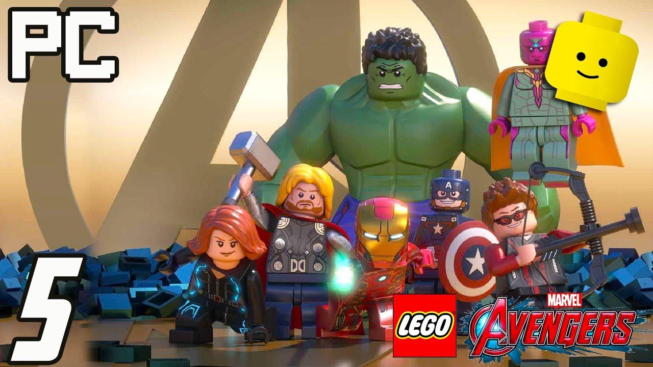 Avengers LEGO Marvel PC Part 5 - Captain America & Iron Man | Best Game Videos