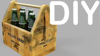 Scrap Wood Beer Case/caddy | Diy | Woodwork