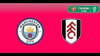 Inglaterra EfL Cup: Manchester City vs Fulham en Vivo ....