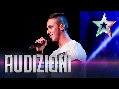 Il rap d'arte di Trava | Italia's Got Talent 2015