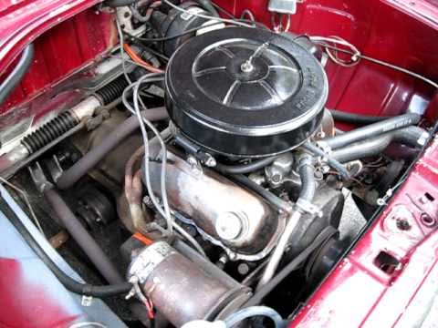 1970 Red Ford Taunus 15 M Engine