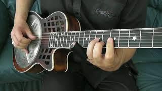 A new mahogany cutaway resonator - The WOODY from Republic Guitars....