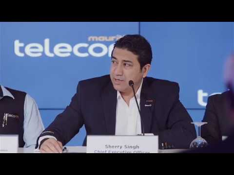 Press Conference - Collective agreement between Mauritius Telecom and Unions for salary review