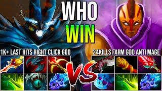 Amazing Hard Carry Battle Between Right Click God Terrorblade Facing Farm God Anti Mage | EPIC!!!