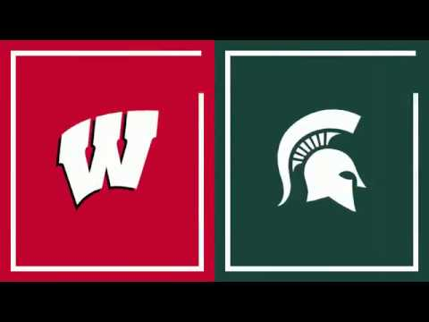 Wisconsin Badgers - Michigan State pulls away to defeat Wisconsin 67-59 on Tuesday night
