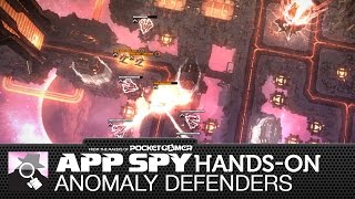 Anomaly Defenders | iOS iPhone / iPad Hands-On - AppSpy.com