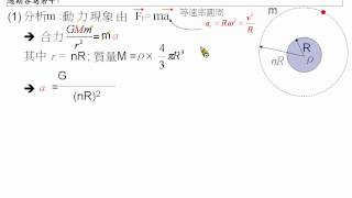 [物理教學影片]範例:行星運動與星球密度