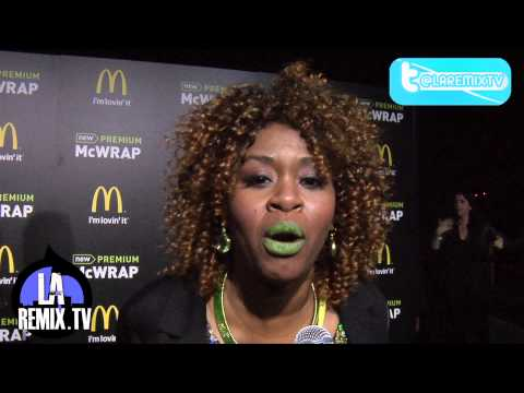 Green Carpet interview with Glozell