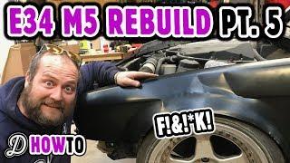 Arch Rolling Fail! Rebuild the Driftland E34 S62 M5 V8