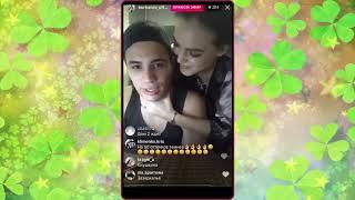 Олег Бурханов и Алиса Огородова в прямом эфире Instagram. дом 2 новости, ТНТ, дом 2 2017