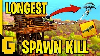 LONGEST SPAWN KILL EVER - Fortnite: Funny & Epic moments #3