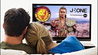 5 Bonnes Raisons de regarder la NJPW sur J-One