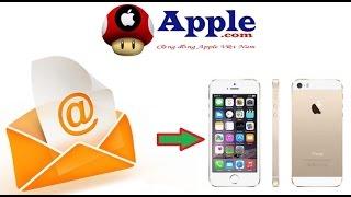 Cách đăng nhập mail trên iPhone 4 5 5s 6 6 Plus ...All