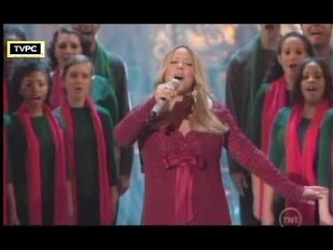 Mariah Carey Oh Come All Ye Faithfull Live Christmas In Washintong