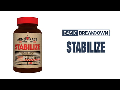 Arms Race Nutrition Stabilize Hormone Support Supplement | Basic Breakdown