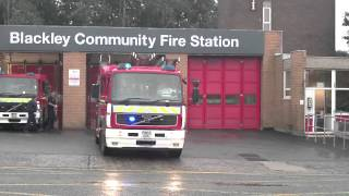 Greater Manchester Fire & Rescue - Blackley Turnout