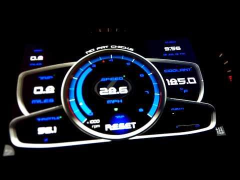 Digital gauge cluster