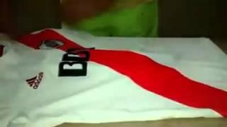 Como hacer hielo con la camiseta de RIVER XD