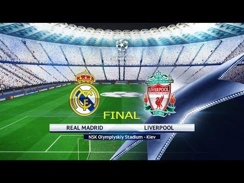 FINAL Real Madrid vs Liverpool | Olimpiyskiy Stadium Kiev | UEFA Champions League 2018 (UCL) | PES