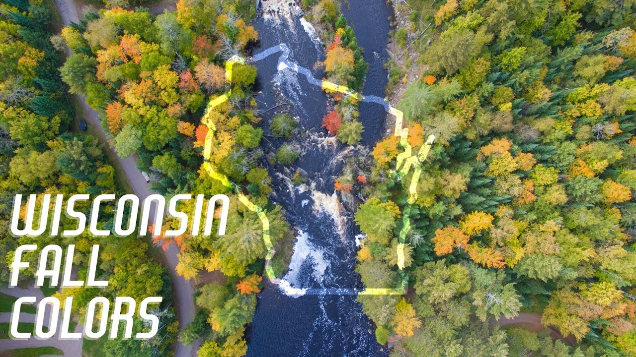 Wisconsin Fall Colors - Autumn Aerial Footage from Around the State ...