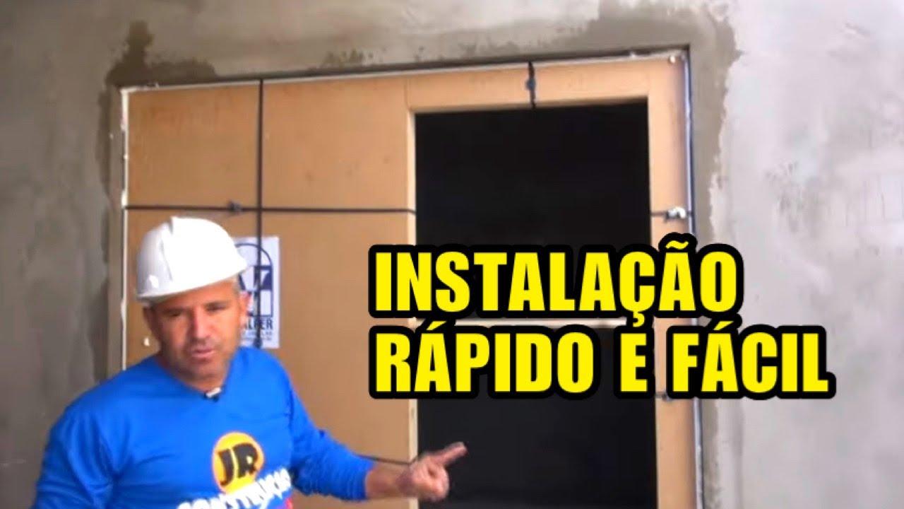 COMO INSTALAR UMA PORTA BALCÃO DE ALUMÍNIO. @YouTube