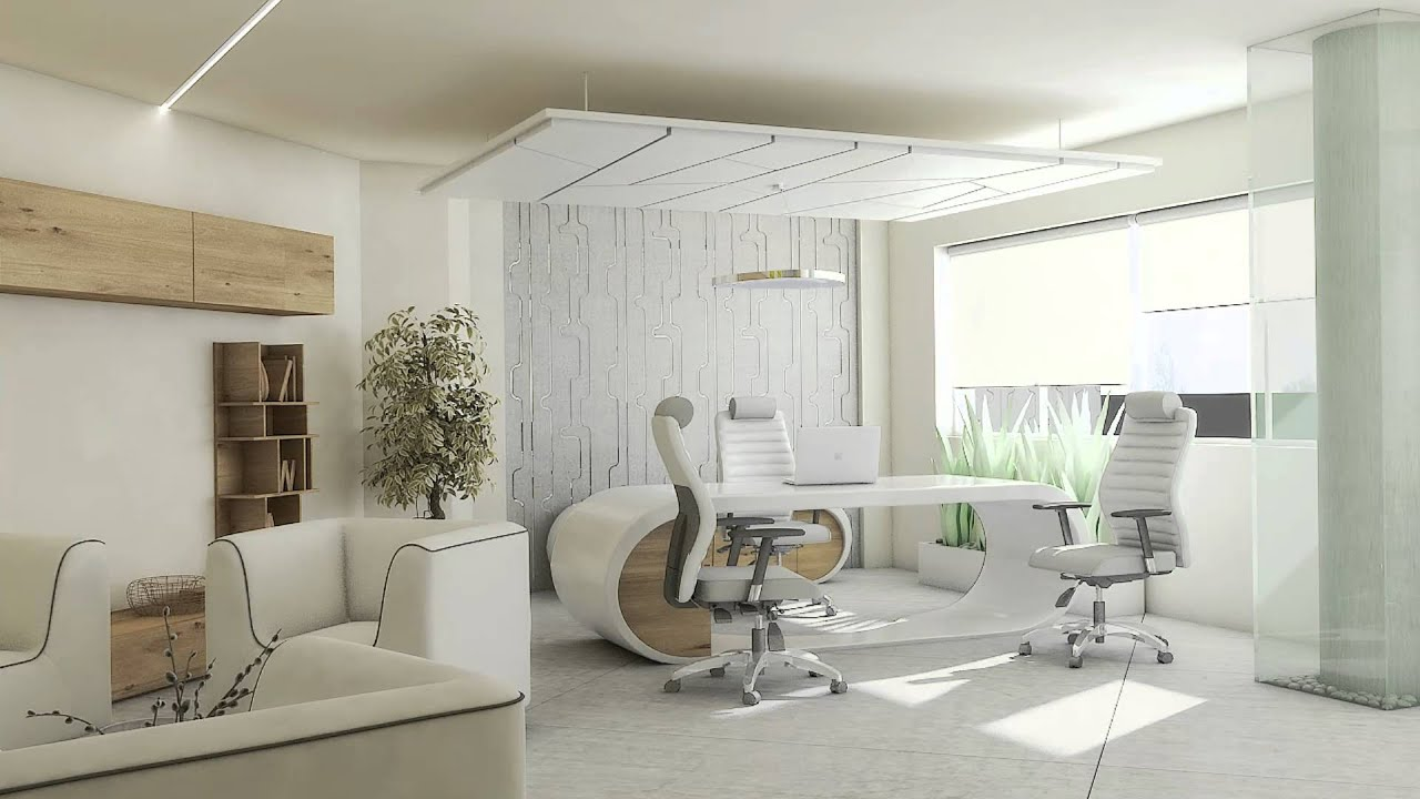 Ceo office design youtube for Office photos