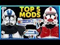 Top 5 Mods of the Week - Star Wars Battlefront 2 Mod Showcase #55