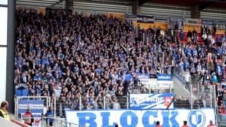 SSV Jahn Regensburg  - 1.FC Magdeburg : Stimmung/Support
