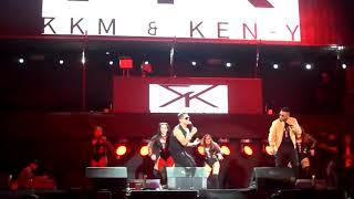 Rkm & Ken-Y x Natti Natasha - Tonta (en vivo, el choli se muda a medellin 2018)