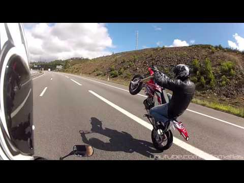 I Won't Stop (CRF Supermoto Long Wheelies and COPS Run)