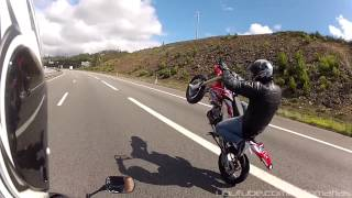 I Won't Stop (CRF Supermoto Long Wheelies and COPS Run)