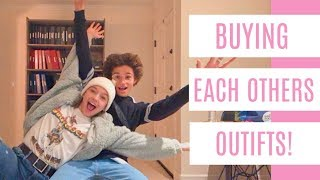 Gambar cover Buying Each Others Outfits! || Jayden Bartels